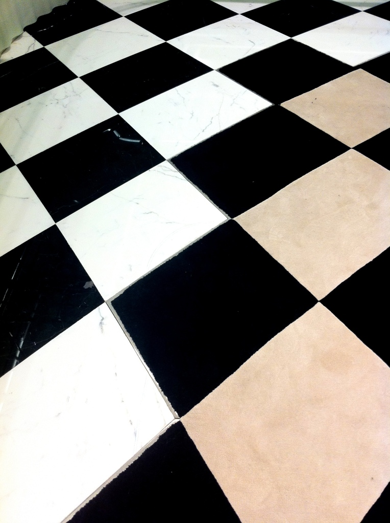 Flooring at Prada Bond street London