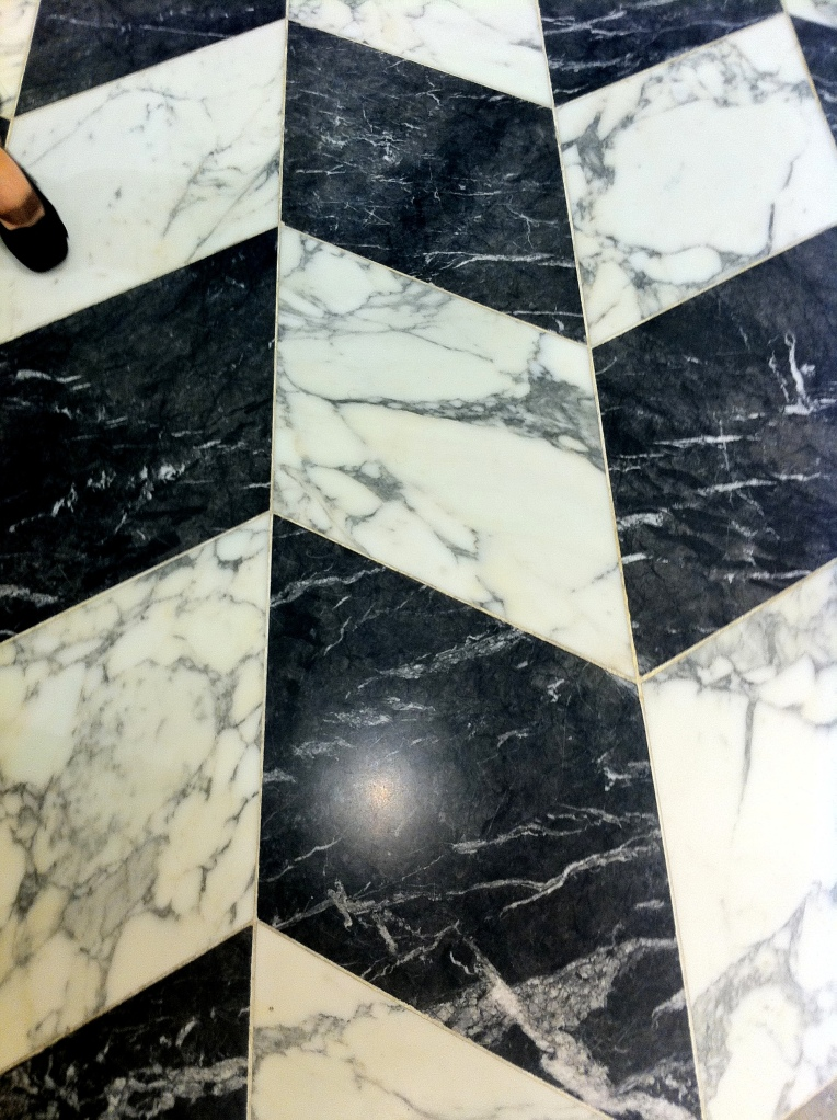 marble Floor selfridges