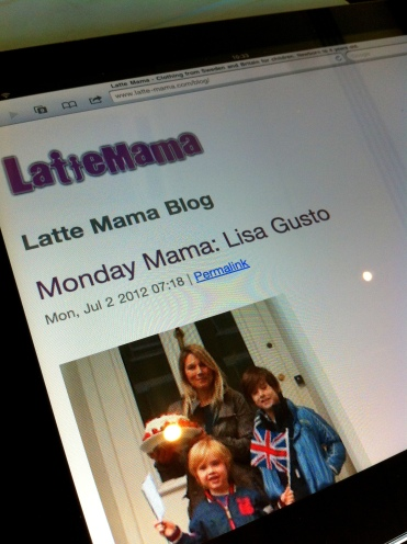 Lisa Gusto on Latte Mama
