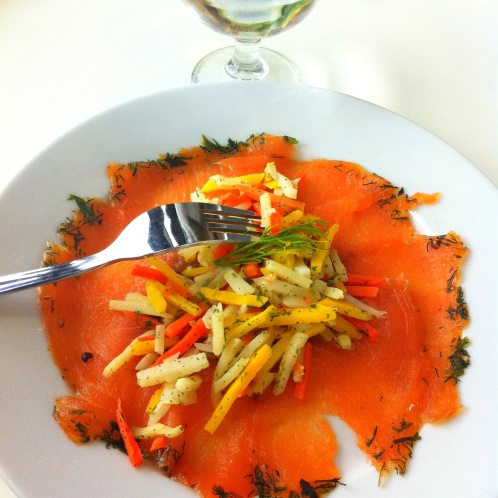 Smoked Salmon at Ikea