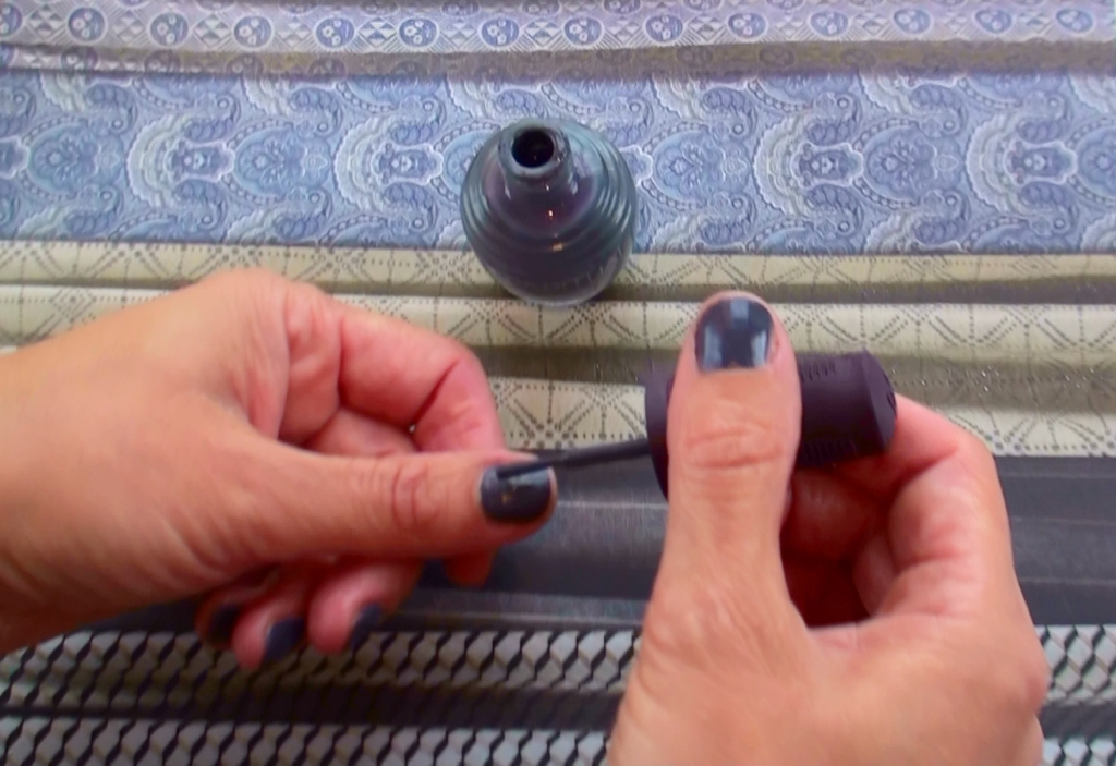 sparitual nail polish in Basalt