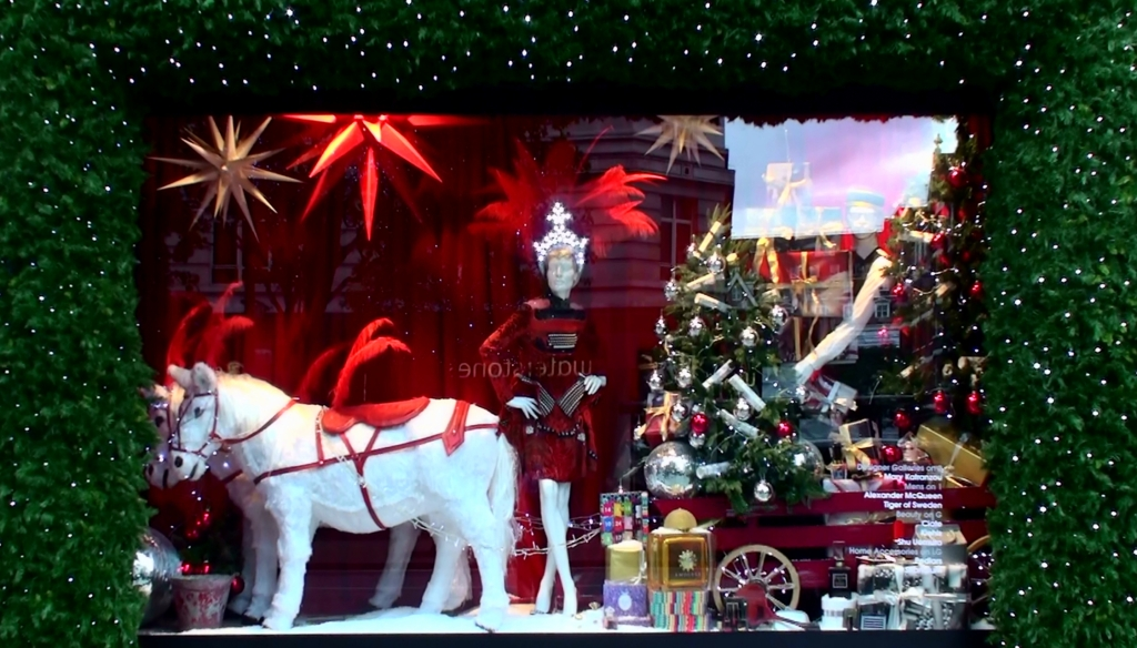Selfridges Christmas windows